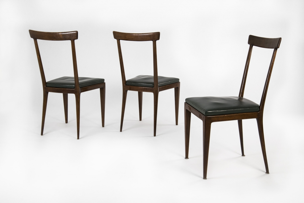 Excellent set di dieci sedie anni u with sedie anni 50 - Sedie design anni 50 ...